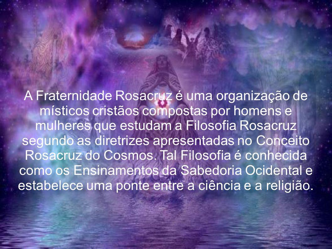A Fraternidade Rosacruz é uma organização de místicos cristãos compostas por homens e mulheres que estudam a Filosofia Rosacruz segundo as diretrizes apresentadas no Conceito Rosacruz do Cosmos. Tal Filosofia é conhecida como os Ensinamentos da Sabedoria Ocidental e estabelece uma ponte entre a ciência e a religião.