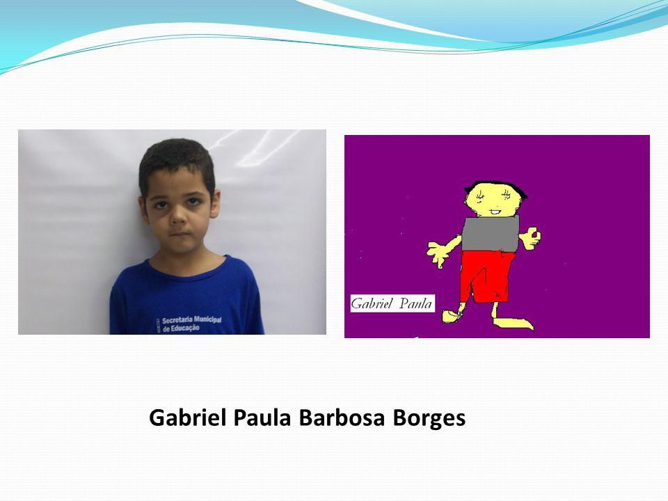Gabriel Paula Barbosa Borges