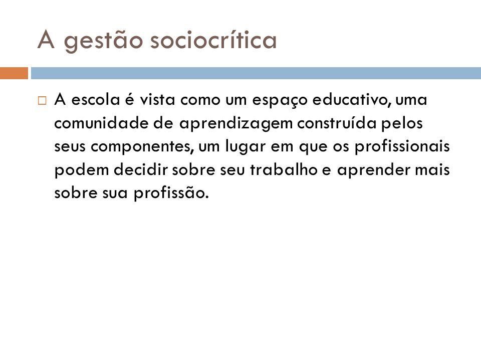 A gestão sociocrítica