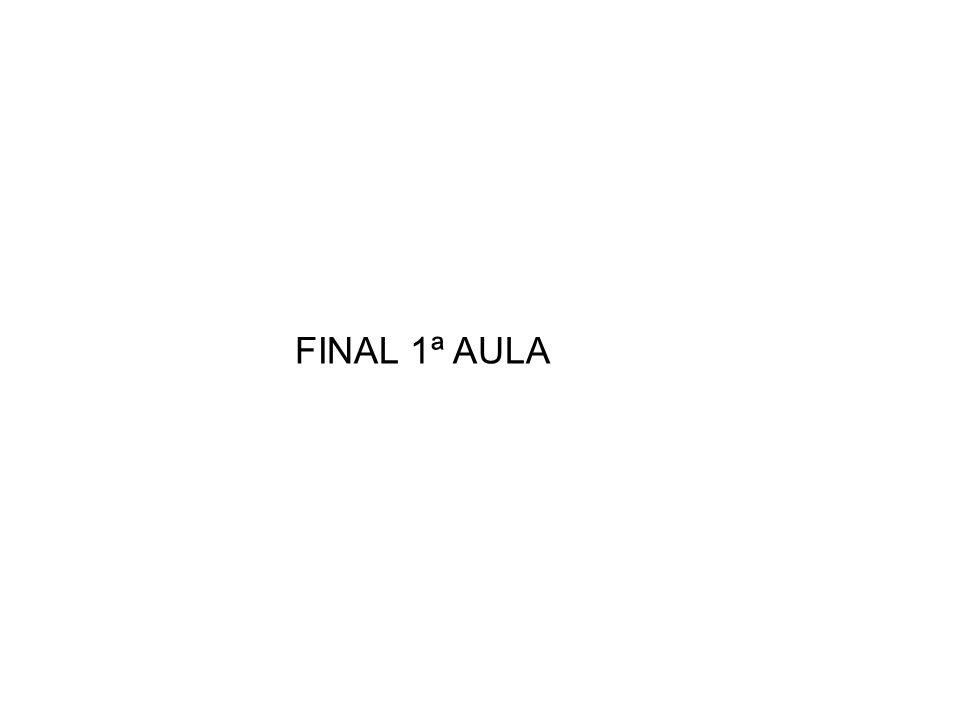 FINAL 1ª AULA