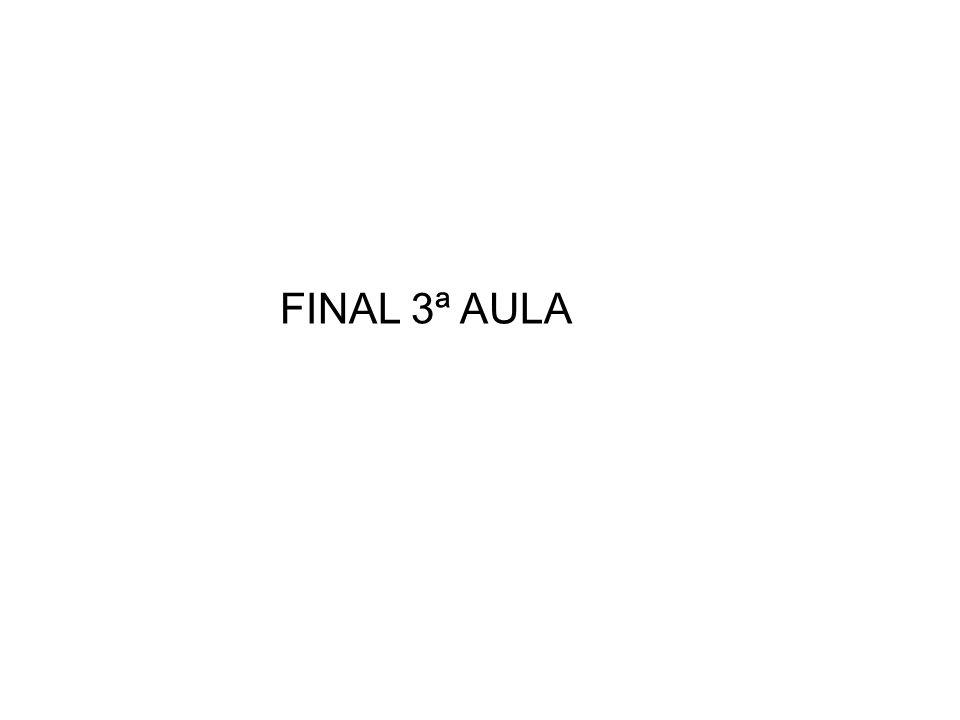 FINAL 3ª AULA