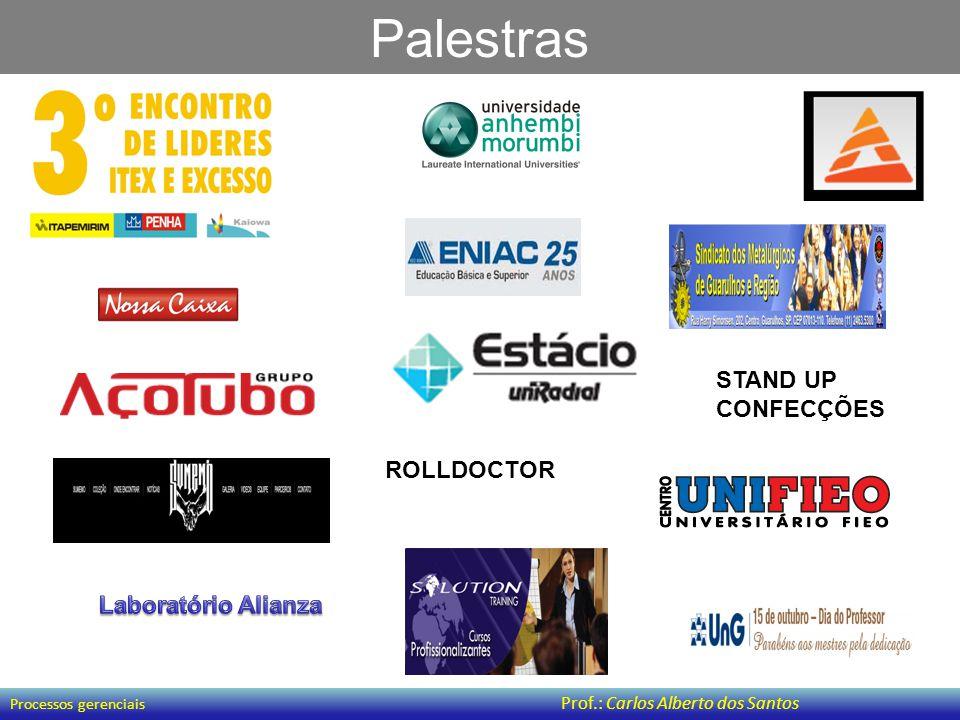 Palestras STAND UP CONFECÇÕES ROLLDOCTOR Laboratório Alianza