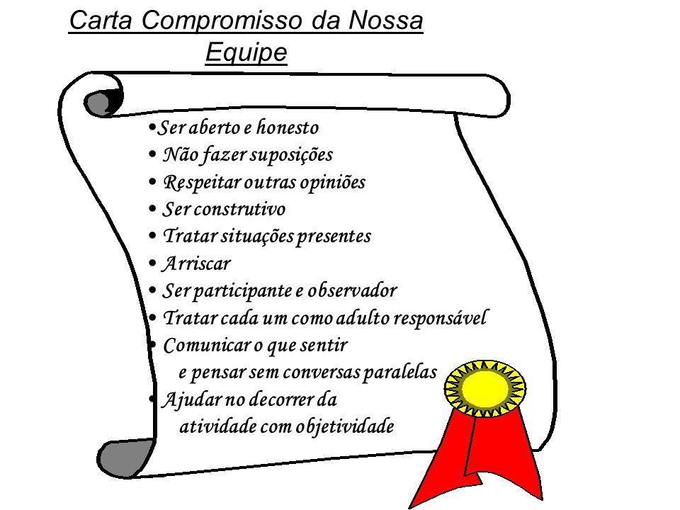 Carta Compromisso da Nossa Equipe