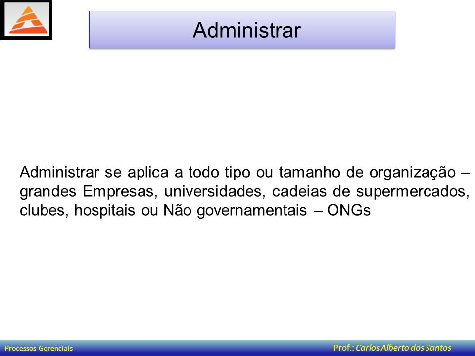Administrar