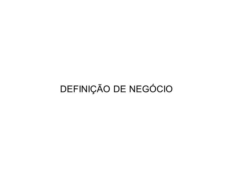DEFINIÇÃO DE NEGÓCIO