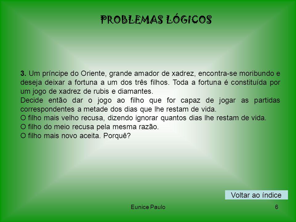 PROBLEMAS LÓGICOS