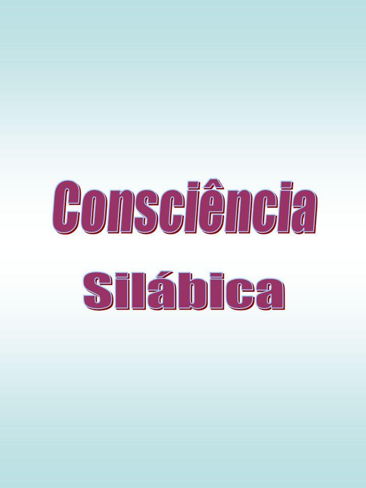 Consciência Silábica