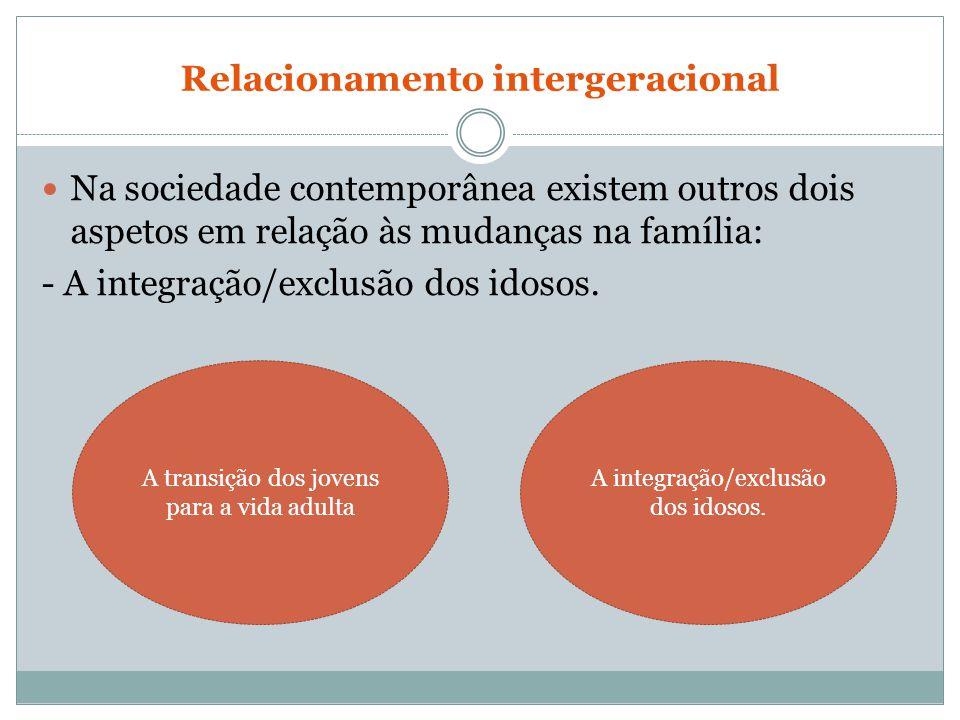 Relacionamento intergeracional