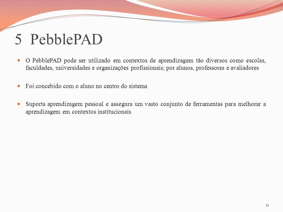 5 PebblePAD