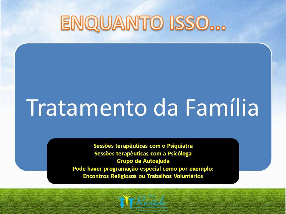 Tratamento da Família ENQUANTO ISSO...