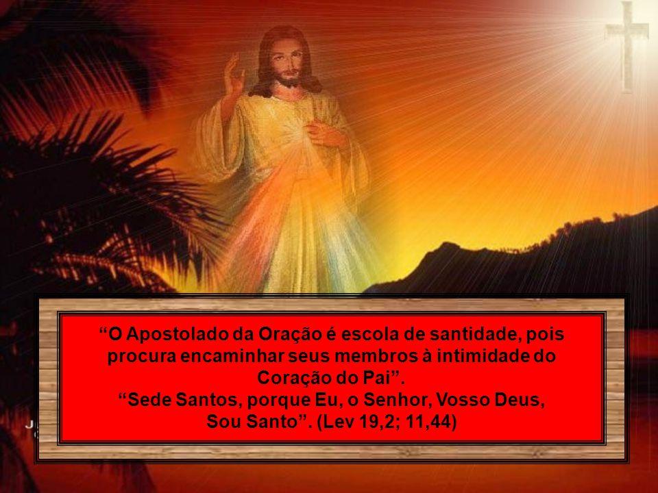 Sede Santos, porque Eu, o Senhor, Vosso Deus,
