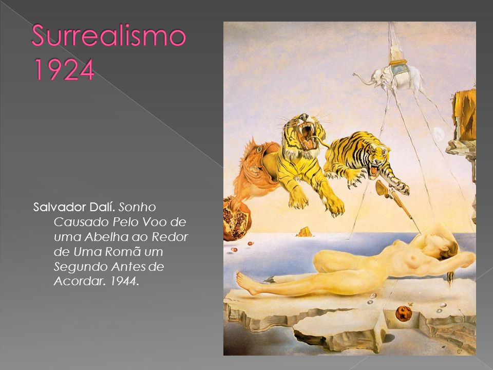 Surrealismo 1924 Salvador Dalí.