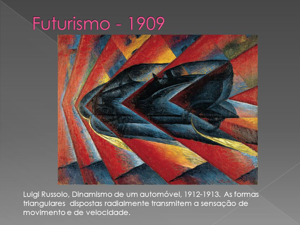 Futurismo - 1909