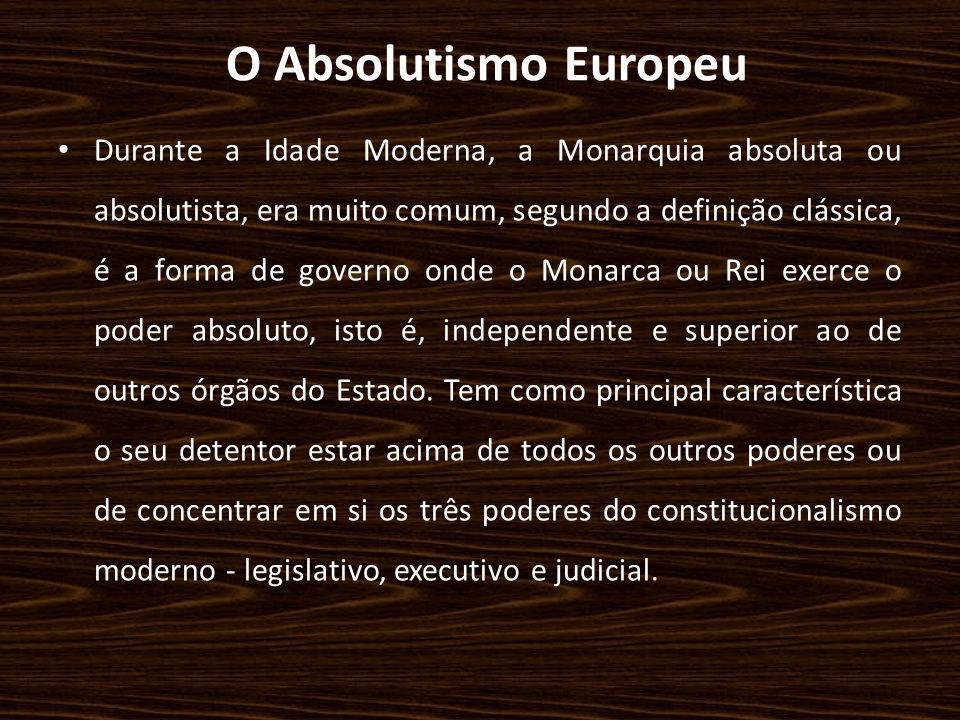 O Absolutismo Europeu