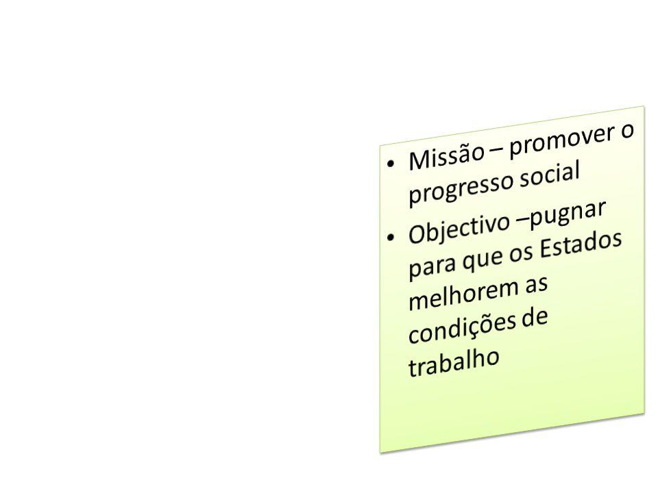 Missão – promover o progresso social