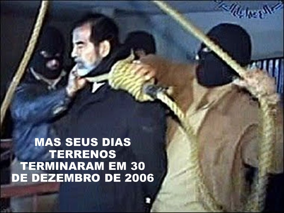 MAS SEUS DIAS TERRENOS TERMINARAM EM 30 DE DEZEMBRO DE 2006