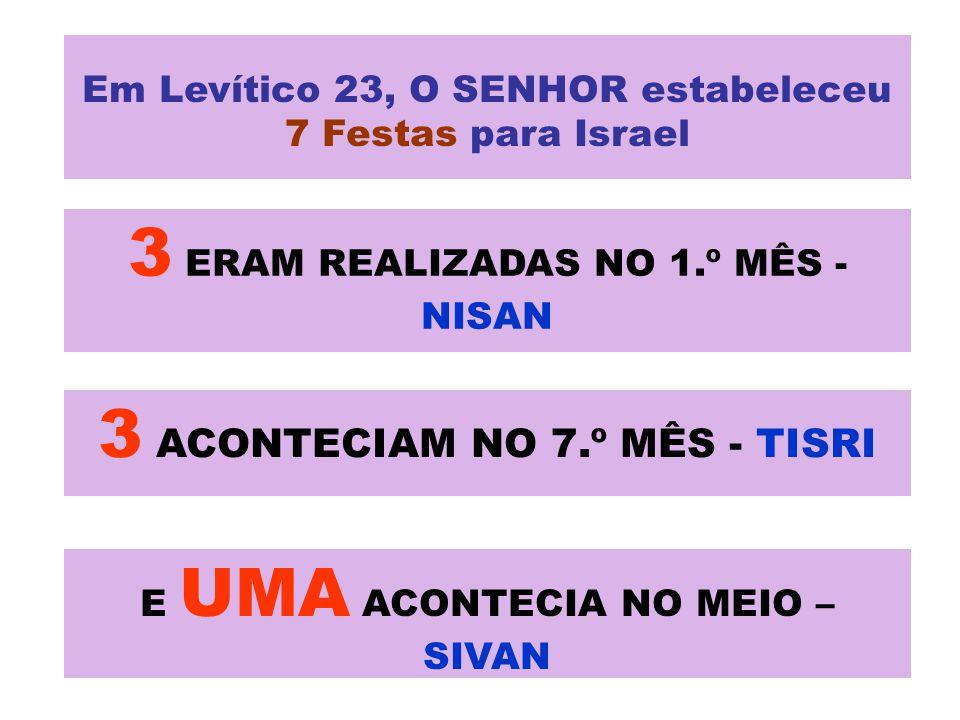 3 ERAM REALIZADAS NO 1.º MÊS - NISAN