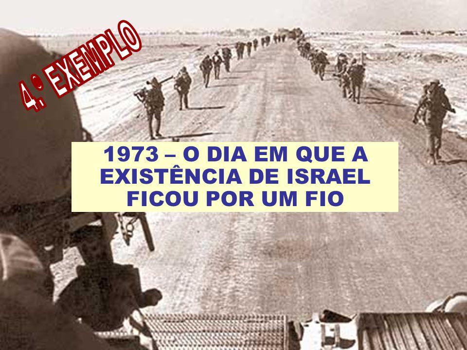 1973 – O DIA EM QUE A EXISTÊNCIA DE ISRAEL FICOU POR UM FIO
