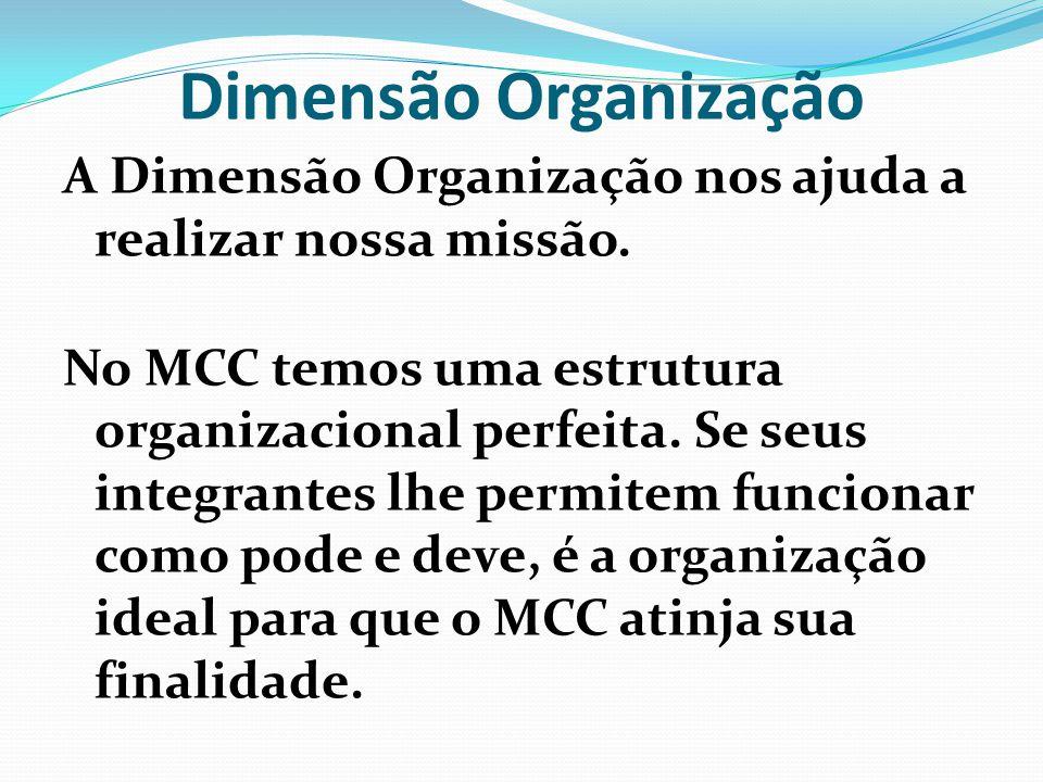 Dimensão Organização