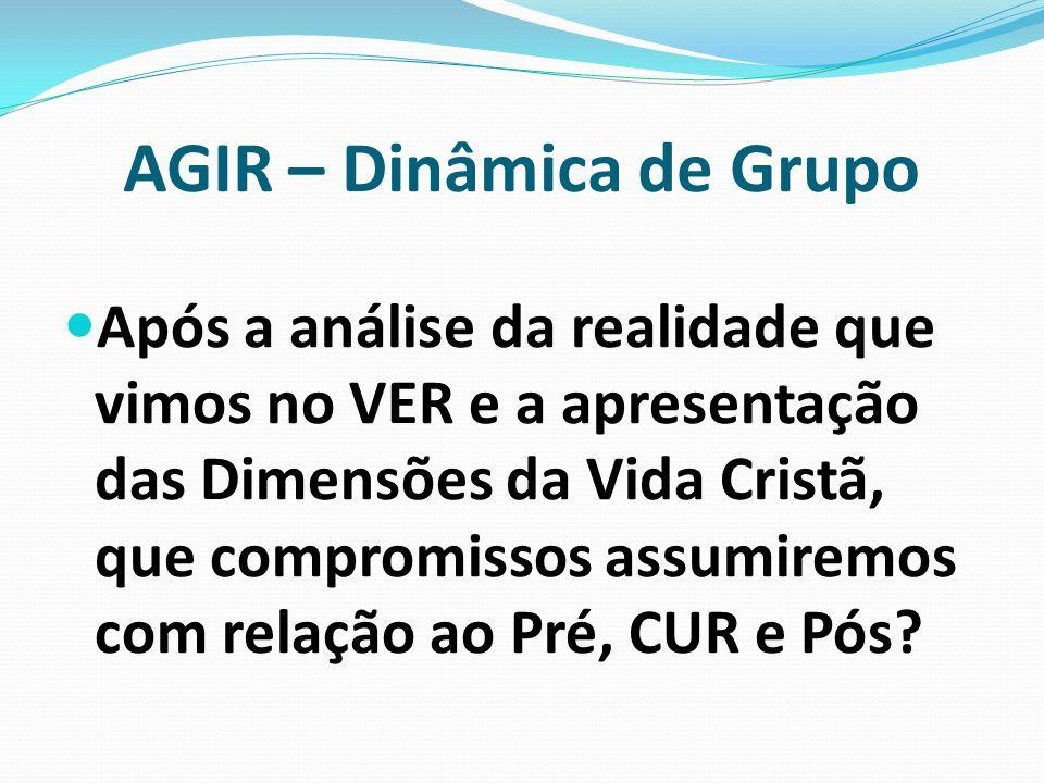 AGIR – Dinâmica de Grupo