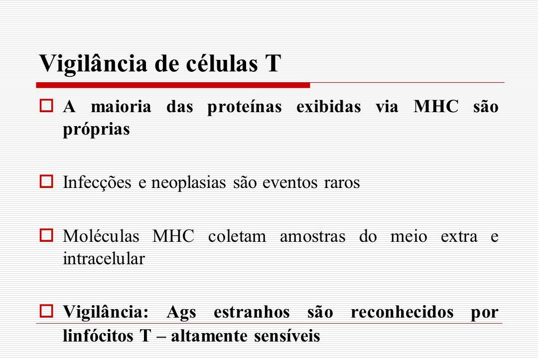 Vigilância de células T