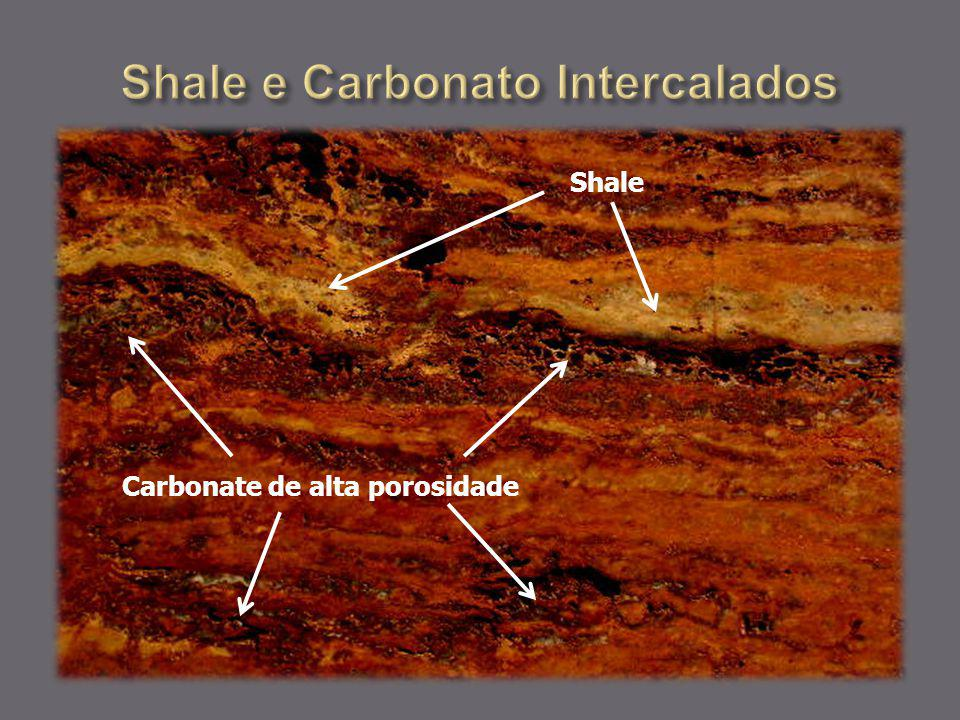 Shale e Carbonato Intercalados