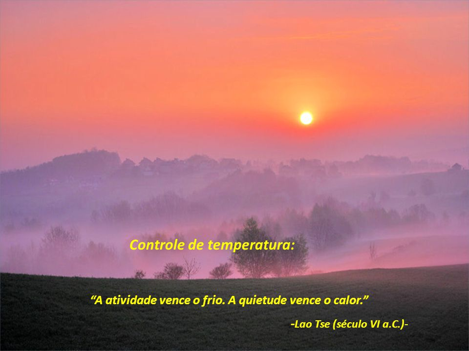 Controle de temperatura: