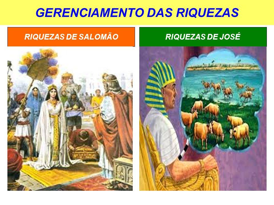 GERENCIAMENTO DAS RIQUEZAS