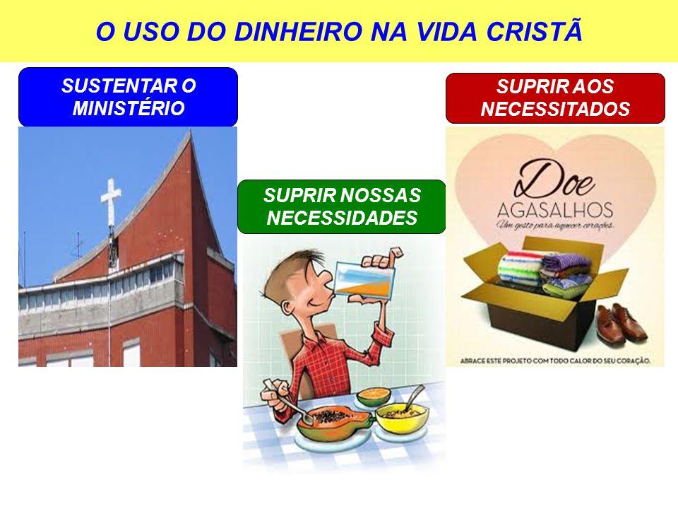 O USO DO DINHEIRO NA VIDA CRISTÃ
