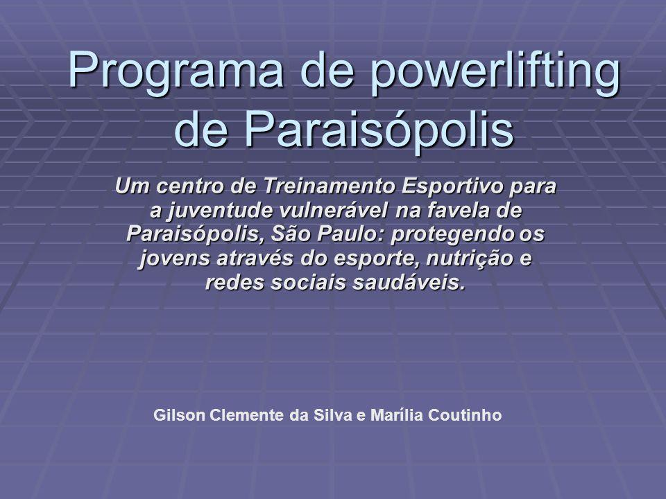 Programa de powerlifting de Paraisópolis