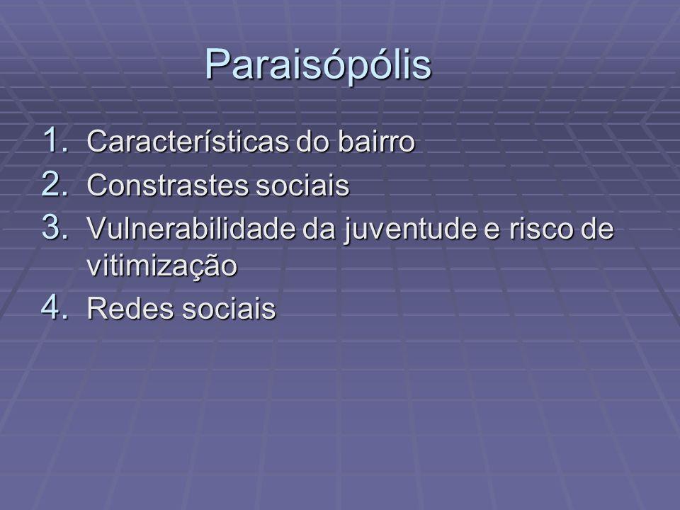 Paraisópólis Características do bairro Constrastes sociais