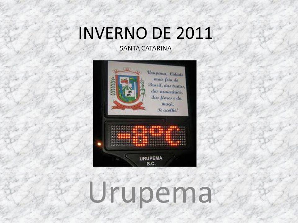 INVERNO DE 2011 SANTA CATARINA