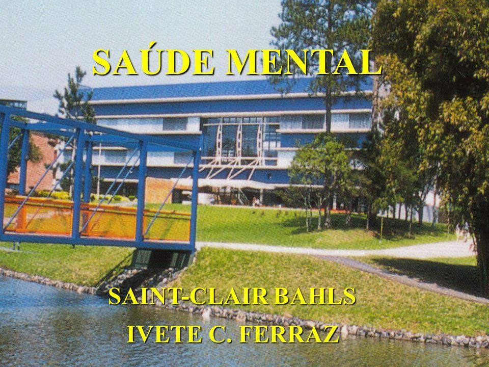 SAÚDE MENTAL SAINT-CLAIR BAHLS IVETE C. FERRAZ