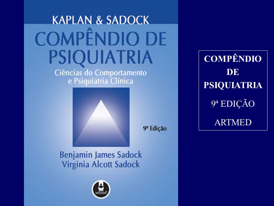 COMPÊNDIO DE PSIQUIATRIA