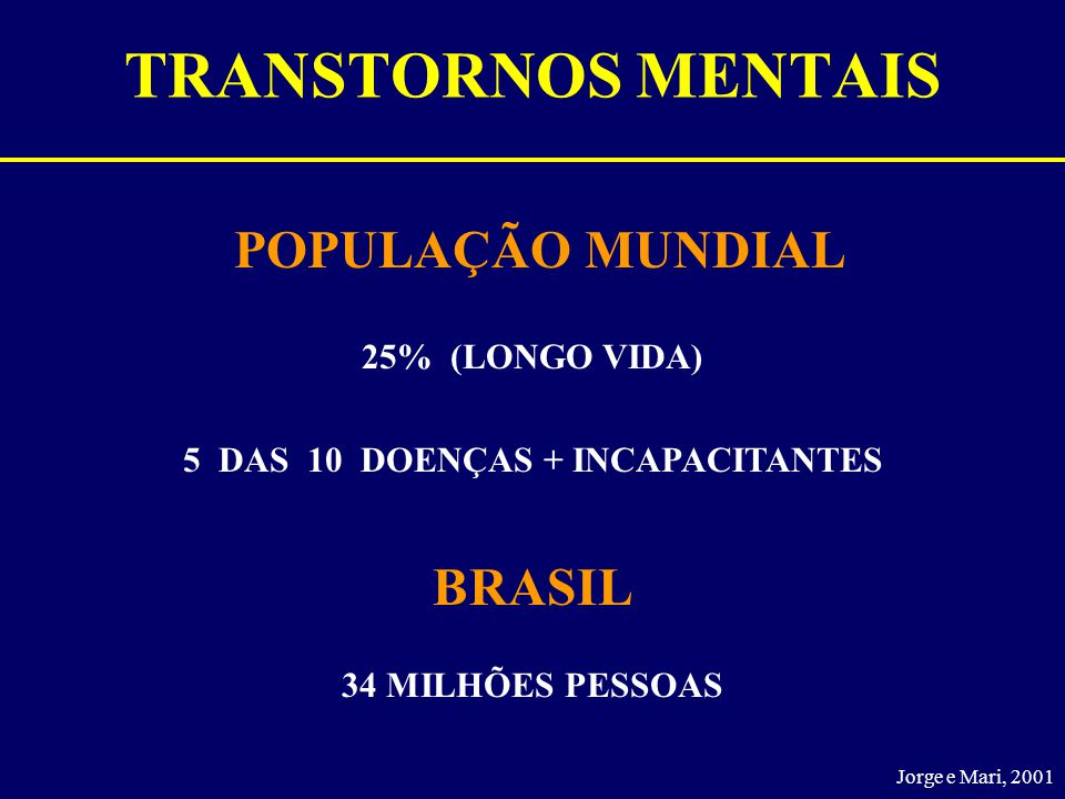 5 DAS 10 DOENÇAS + INCAPACITANTES
