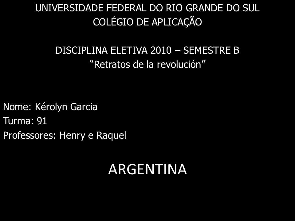 ARGENTINA UNIVERSIDADE FEDERAL DO RIO GRANDE DO SUL
