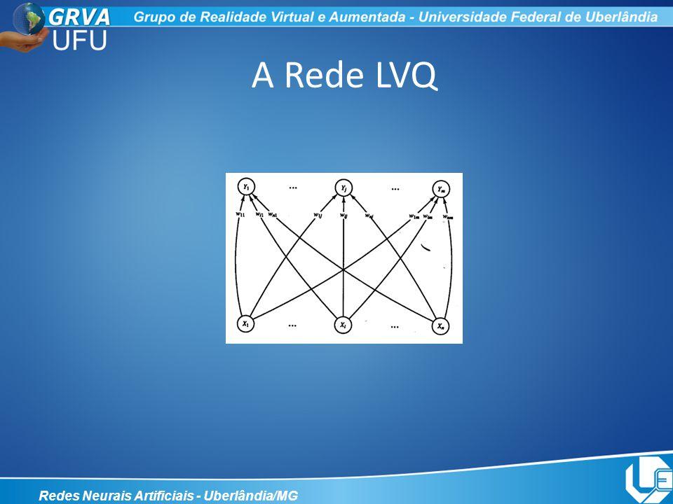 A Rede LVQ Redes Neurais Artificiais - Uberlândia/MG