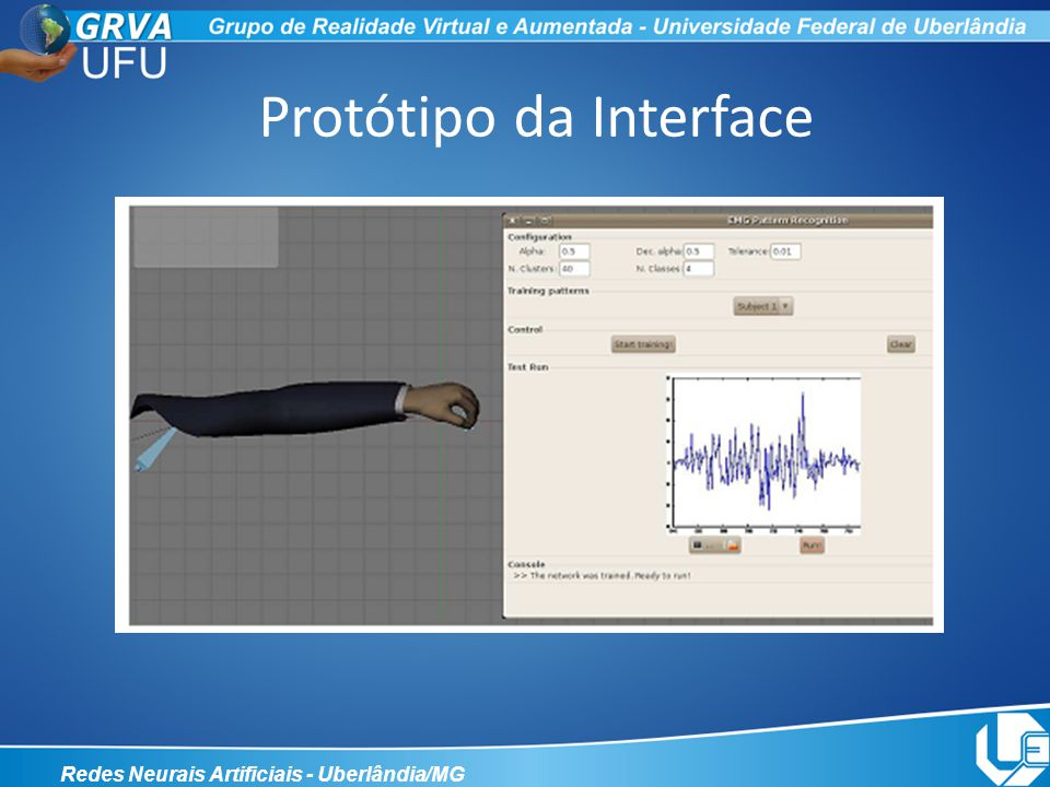 Protótipo da Interface
