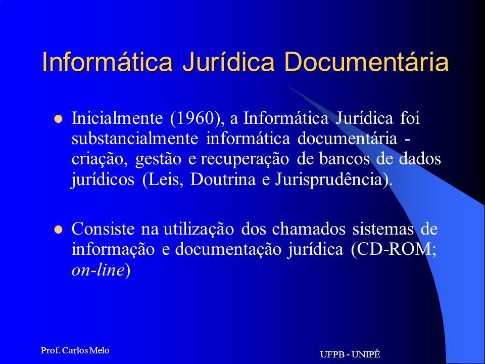 Informática Jurídica Documentária