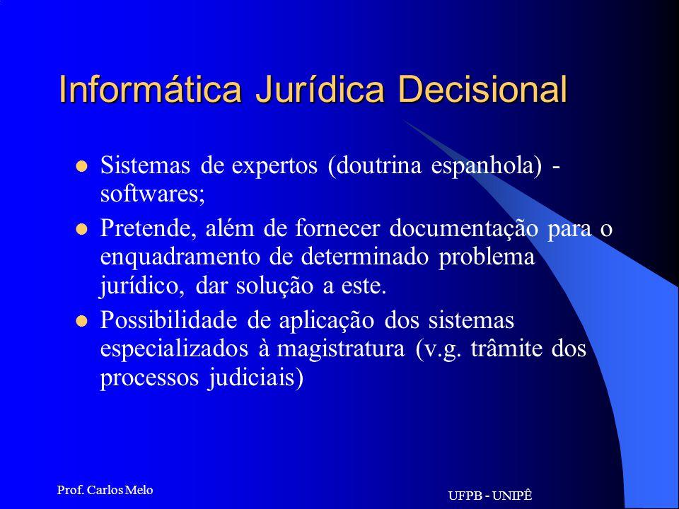 Informática Jurídica Decisional