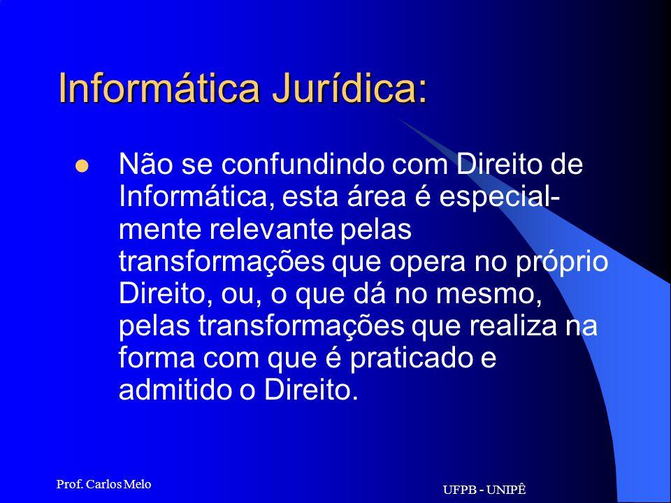 Informática Jurídica:
