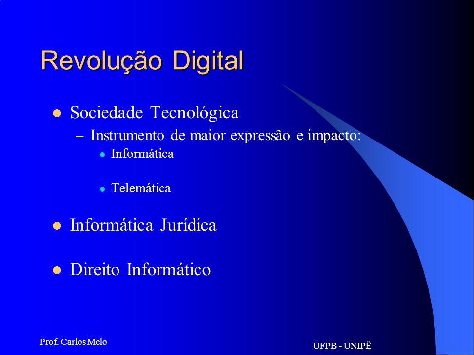 Revolução Digital Sociedade Tecnológica Informática Jurídica