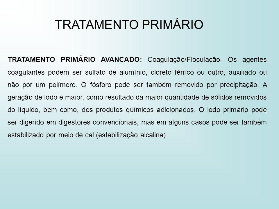 TRATAMENTO PRIMÁRIO