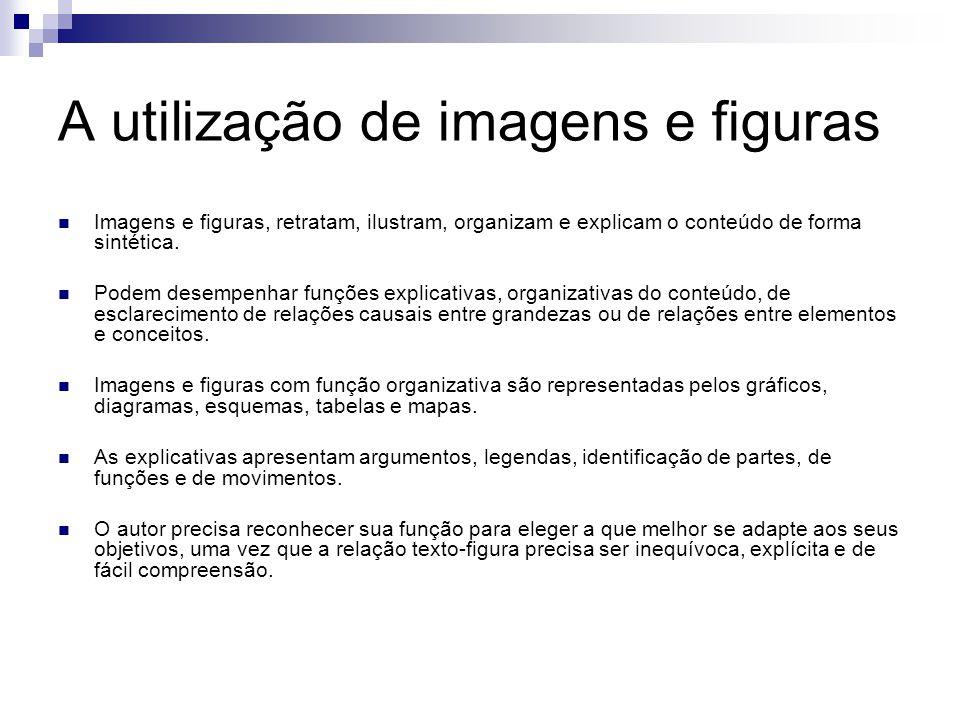 A utilização de imagens e figuras