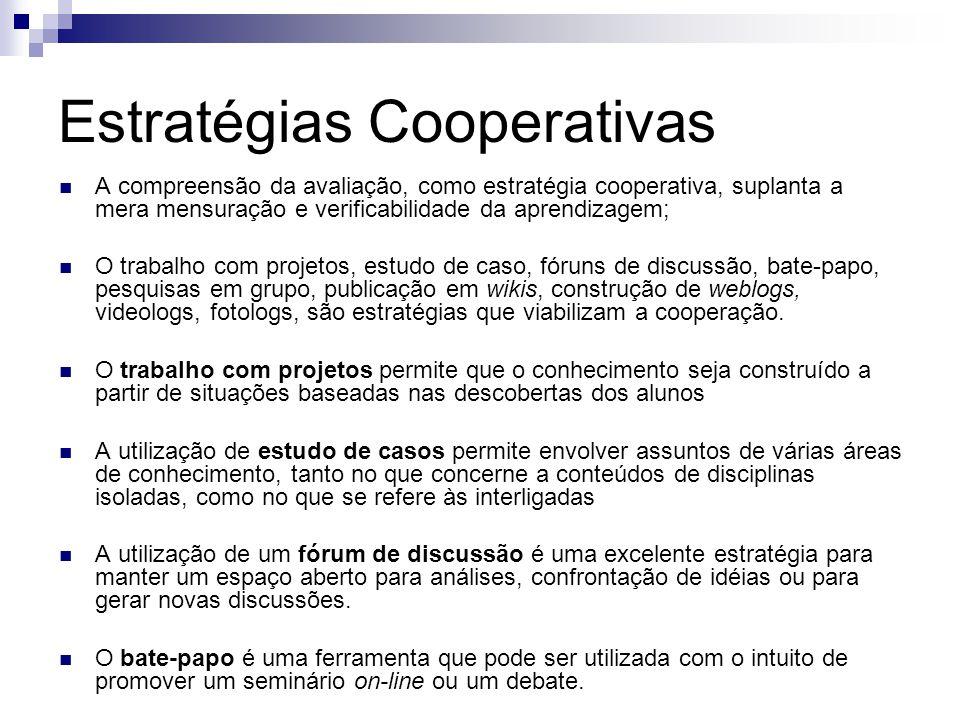 Estratégias Cooperativas