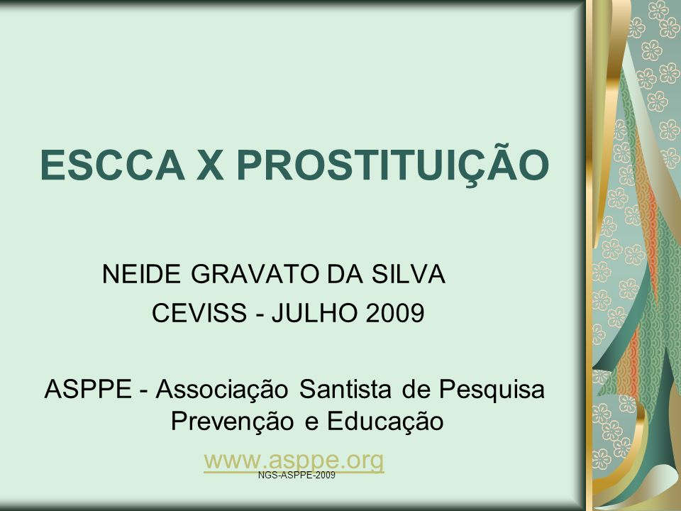 ASPPE - Associação Santista de Pesquisa Prevenção e Educação