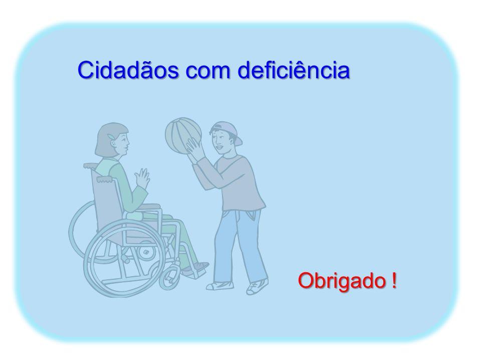 Cidadãos com deficiência