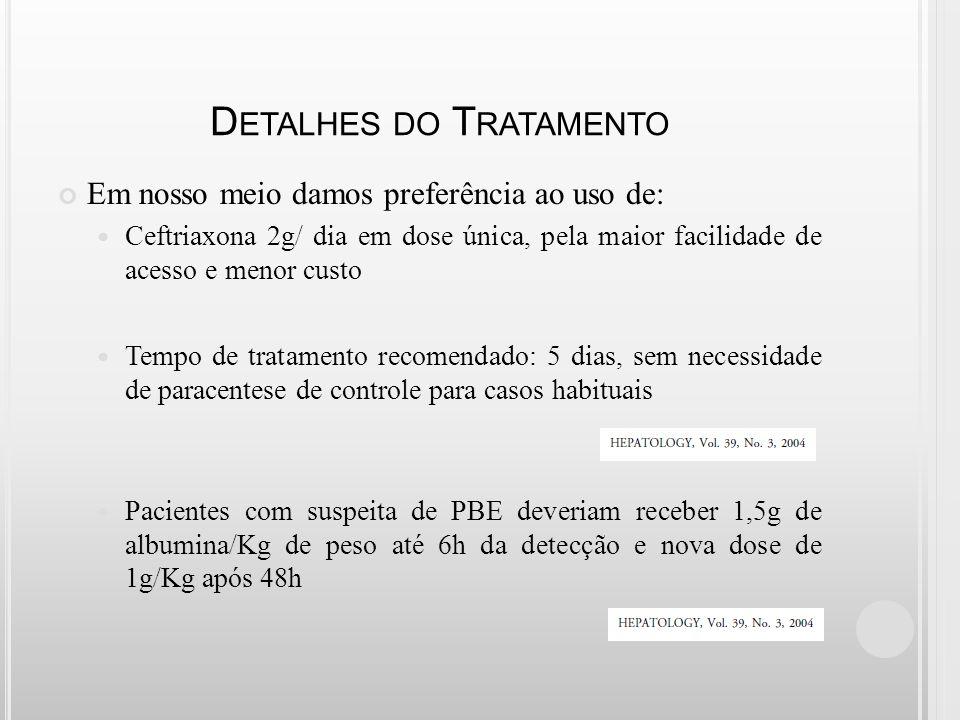 Detalhes do Tratamento