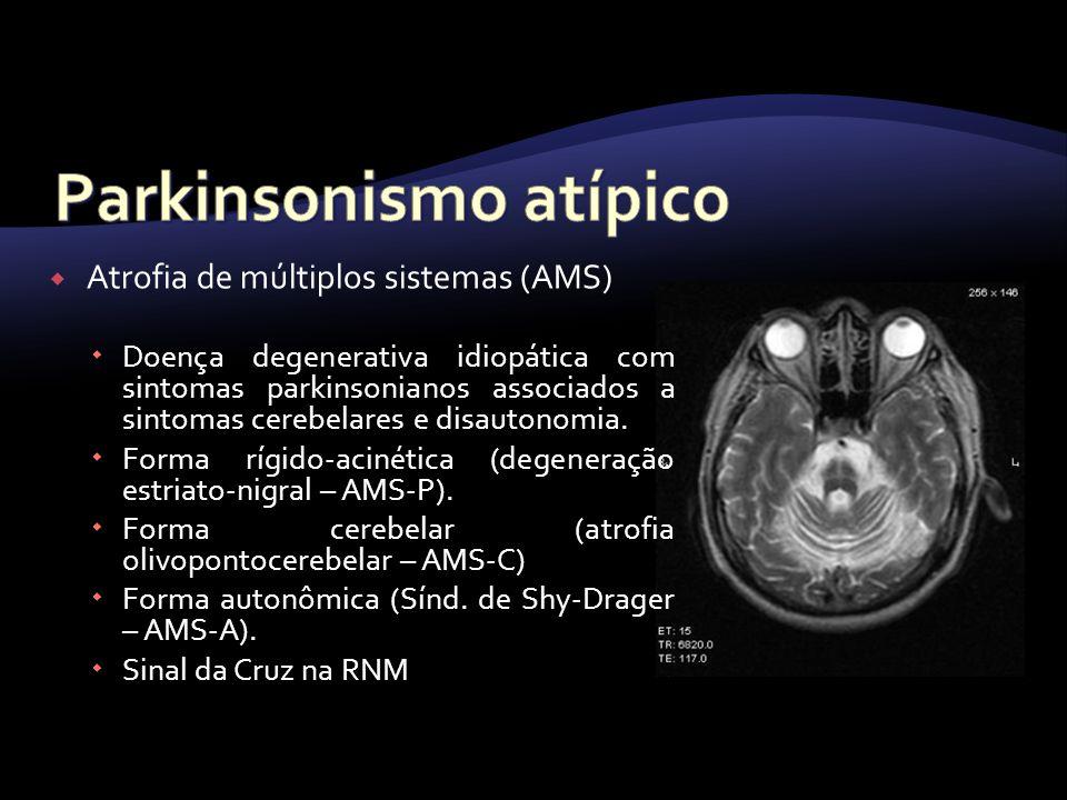 Parkinsonismo atípico