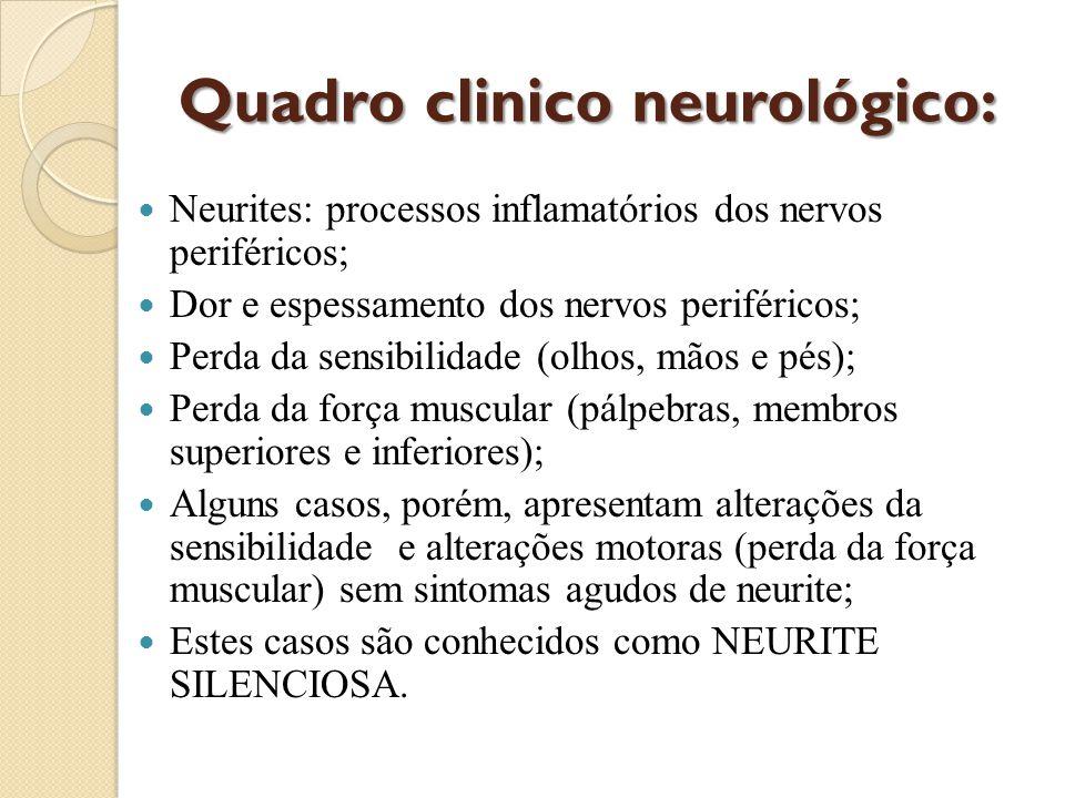 Quadro clinico neurológico: